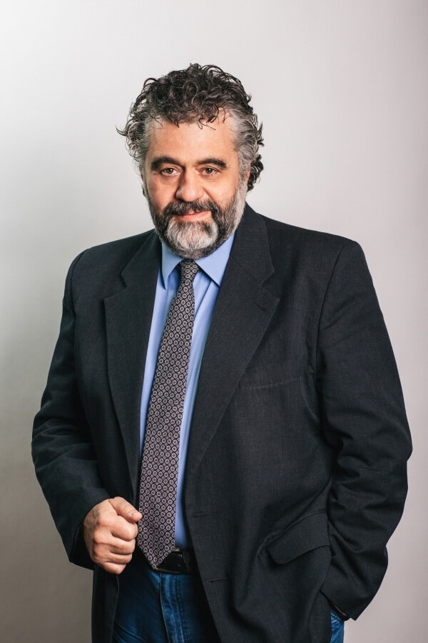 Picture of Christos Glavopoulos, Founder and Managing Director with a resolute look